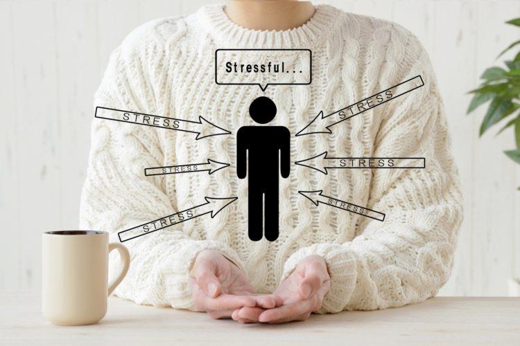 ストレスの図