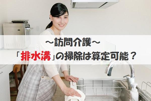 訪問介護 排水溝の掃除は算定可能?